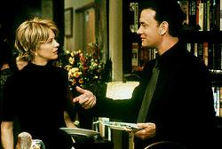 Meg Ryan and Tom Hanks in You've Got Mail