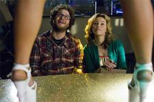 Seth Rogen and Elizabeth Banks in Kevin Smith's Zack and Miri Make a Porno.
