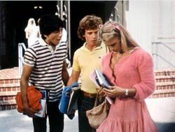 Scott Baio, Willie Ames and Heather Thomas in Zapped!.