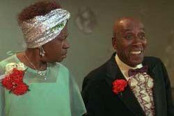 LaWanda Page and Scatman Crothers in Zapped.