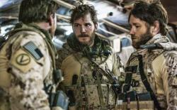 Chris Pratt and Joel Edgerton in Zero Dark Thirty