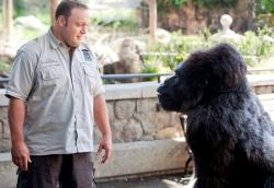 Kevin James and and his best friend Bernie