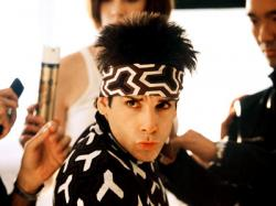Ben Stiller as Derek Zoolander in Zoolander.