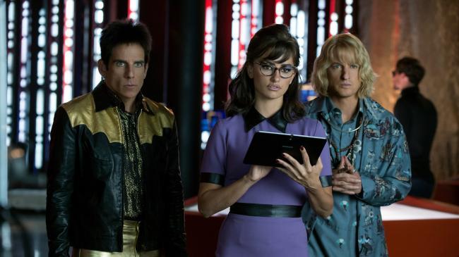 Ben Stiller, Penélope Cruz, Owen Wilson in Zoolander 2.